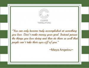 Chantal Cooper DDVDW Maya Angelou